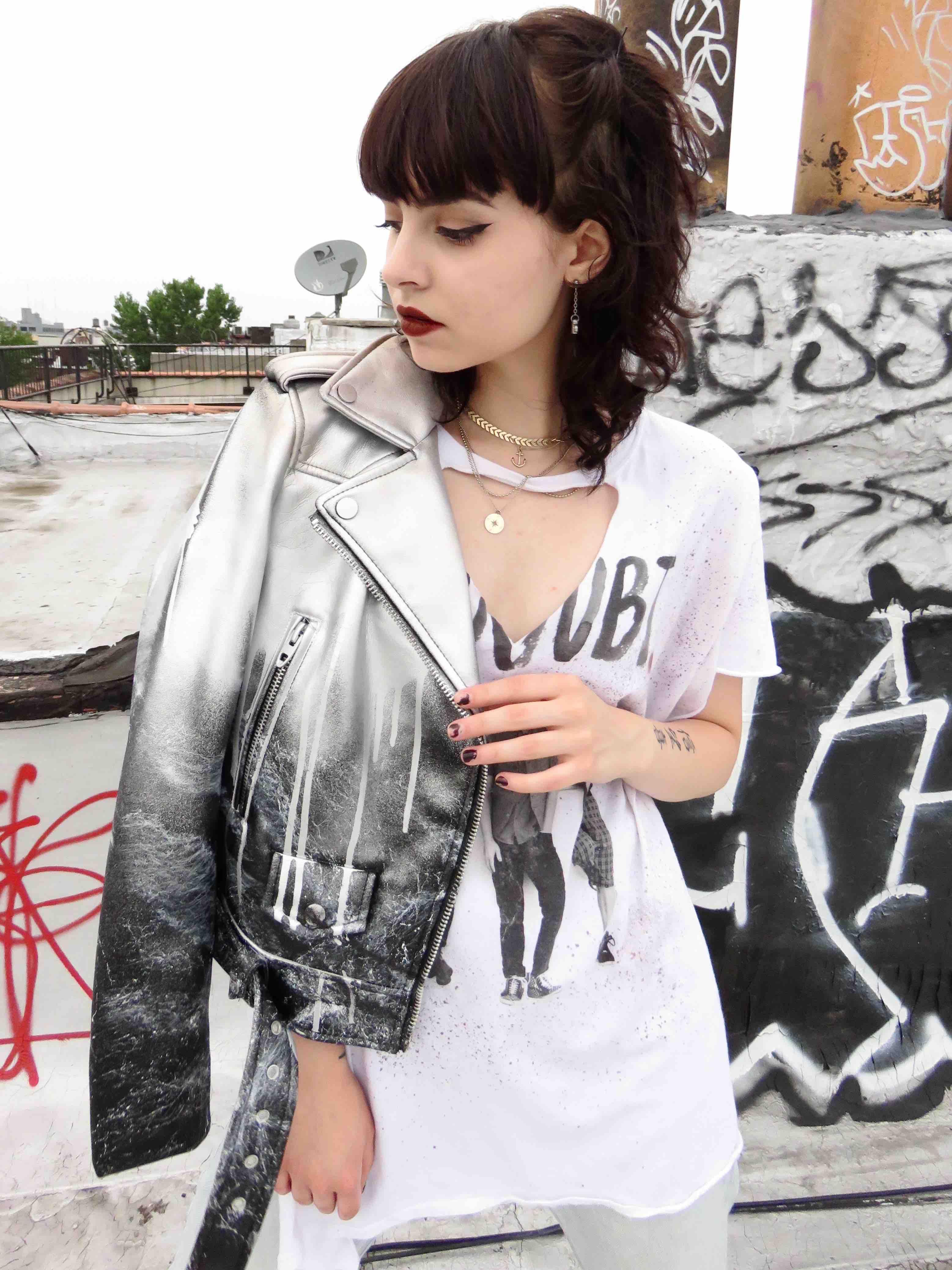 b8c601de1 Womens Custom Painted Jacket